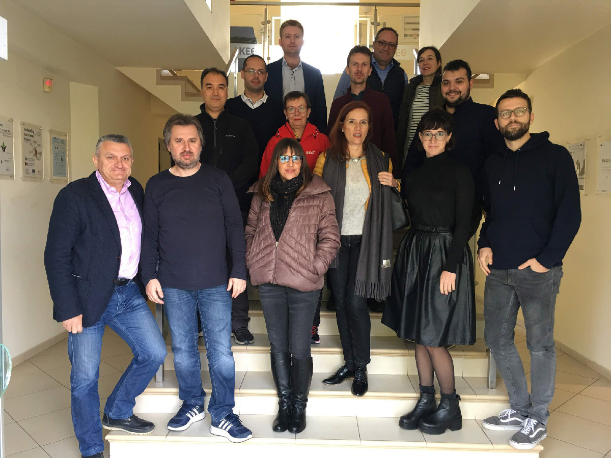 Kick-off meeting of the project, 20-21 Nov 2018